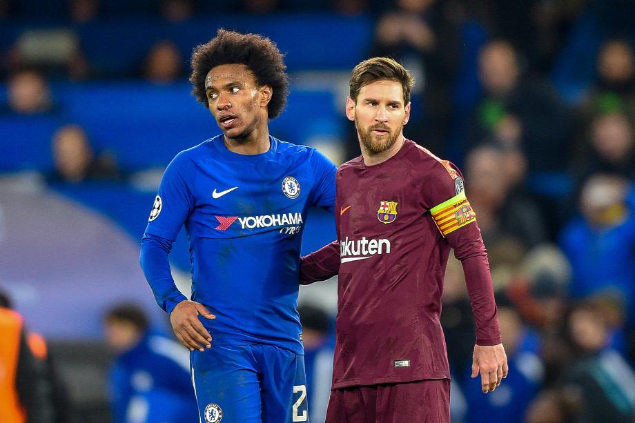 Lonodnban Willian és Messi góljaival 1-1-re végeztek a csapatok fb8f0ac2c4