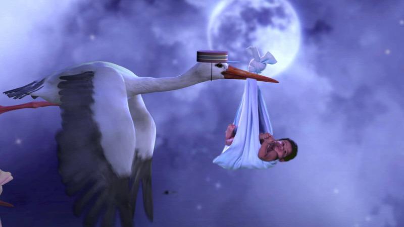 Tudja-e, vajon miért pont a gólya hozza a babákat?