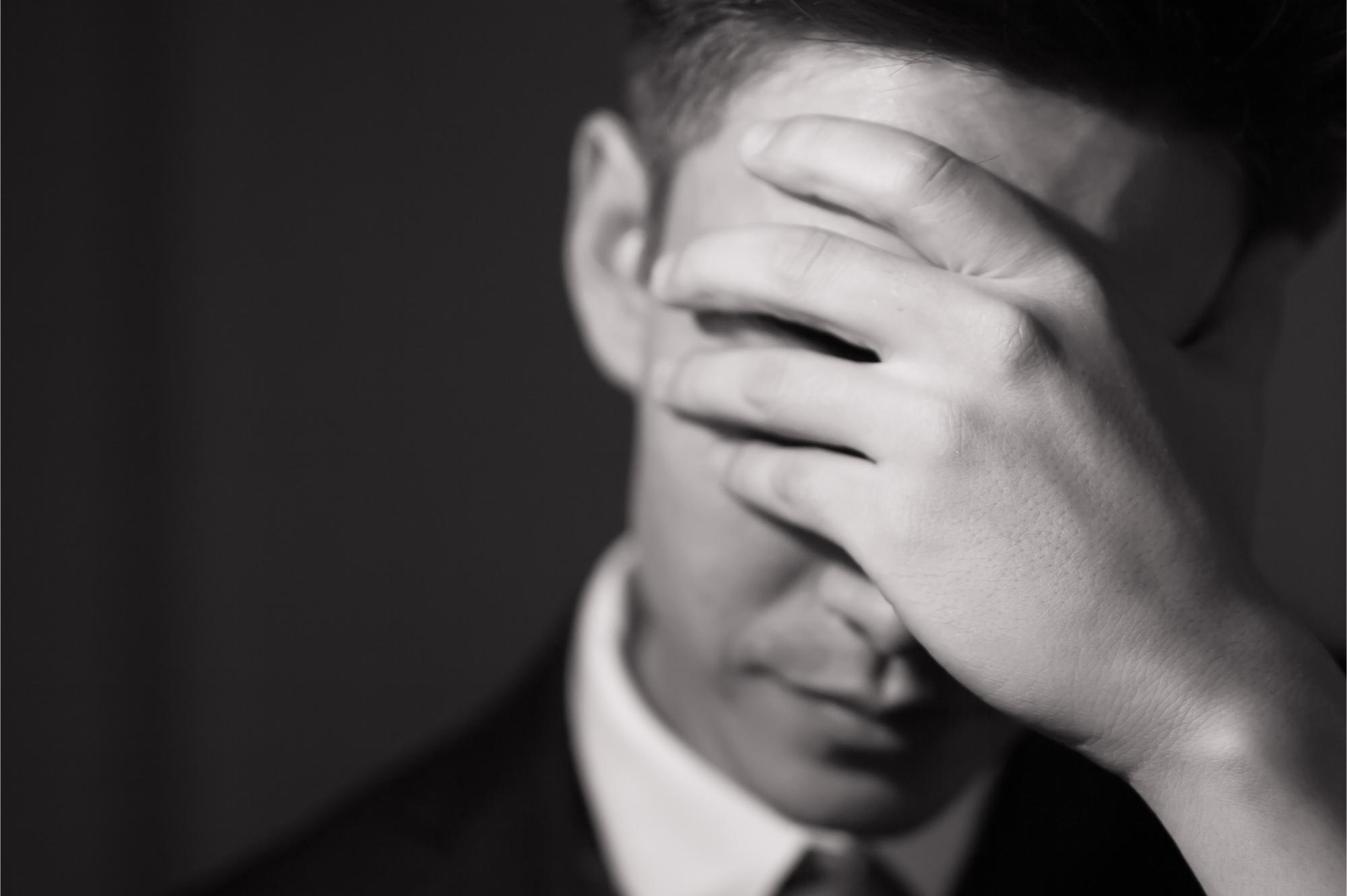 Miért nem sírnak a férfiak?
