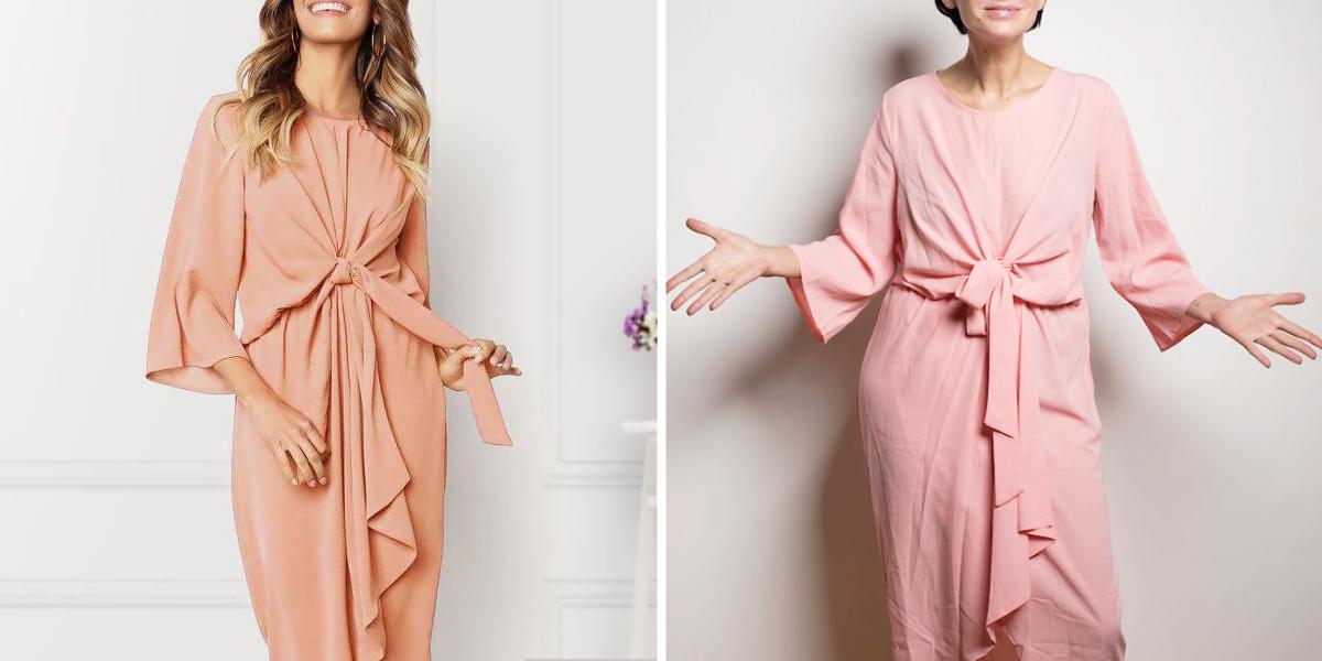d768b5f705 Borzalmas ruhákat kapott az interneten vásárló nő, de amit kihozott  belőlük, az elképesztő