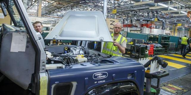 Forrás: Jaguar Land Rover
