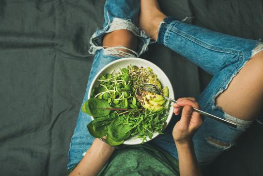 vegetáriánus jövőkép