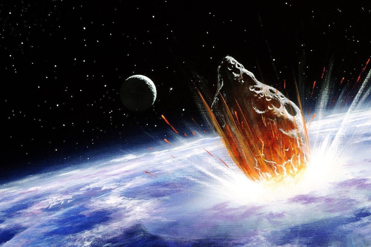 Óriási aszteroida támadás a Föld ellen