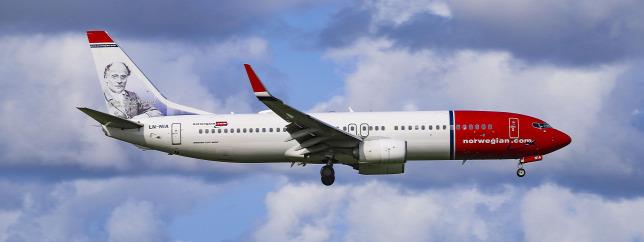 7a3151cd2965 A Norwegian Air 737 800-as gépe: a pilóták jobban kedvelik ezeket a régebbi  típusokat, mint a Max-család gépeitForrás: AFP/NurPhoto/Nicolas Economou