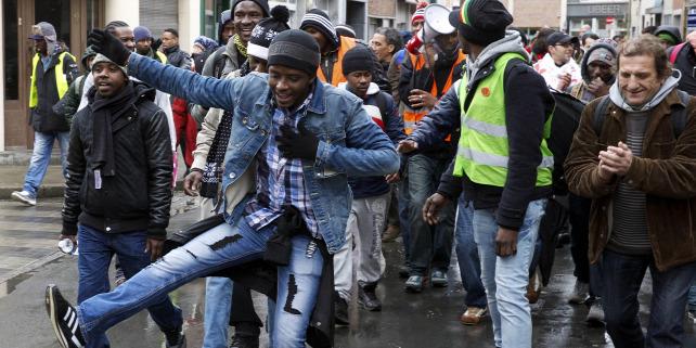 Forrás: BELGA/AFP/Nicolas Maeterlinck