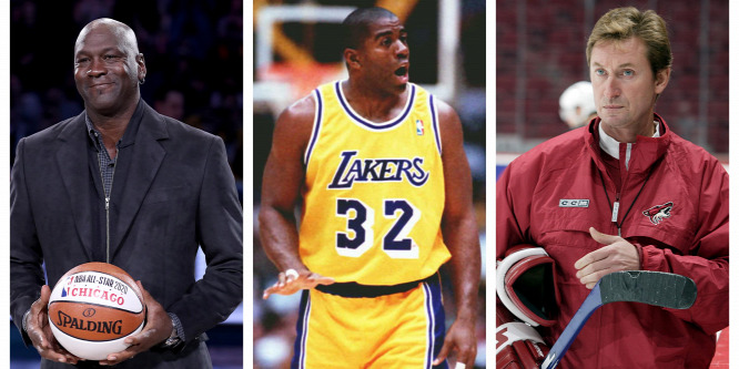 Michael Jordan, Magic Johnson és Wayne Gretzky is megásta csapata sírját