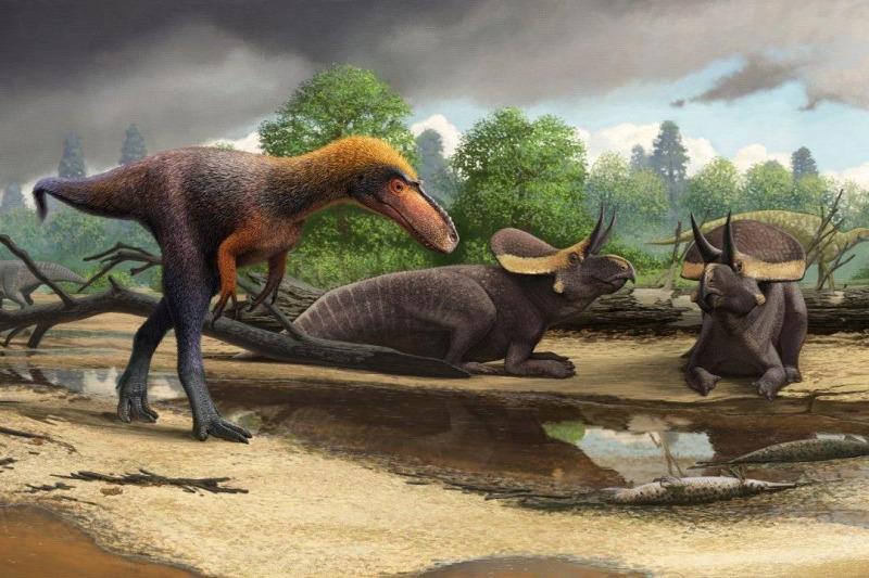 a dinoszauruszok paraziták voltak)