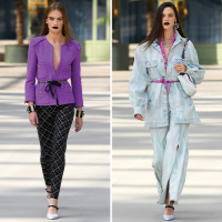 ee87ca9859ed Karl Lagerfeld utódja bemutatta első Chanel-kollekcióját