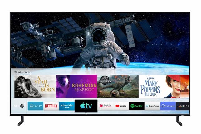 aef157718beb Megjött az Apple TV és az AirPlay 2 a Samsung új okostévéireForrás: Samsung