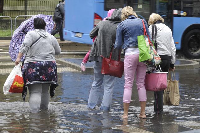 2c3ca9626630 Időjárás: több megyében továbbra is zivatarokra, sok esőre ...