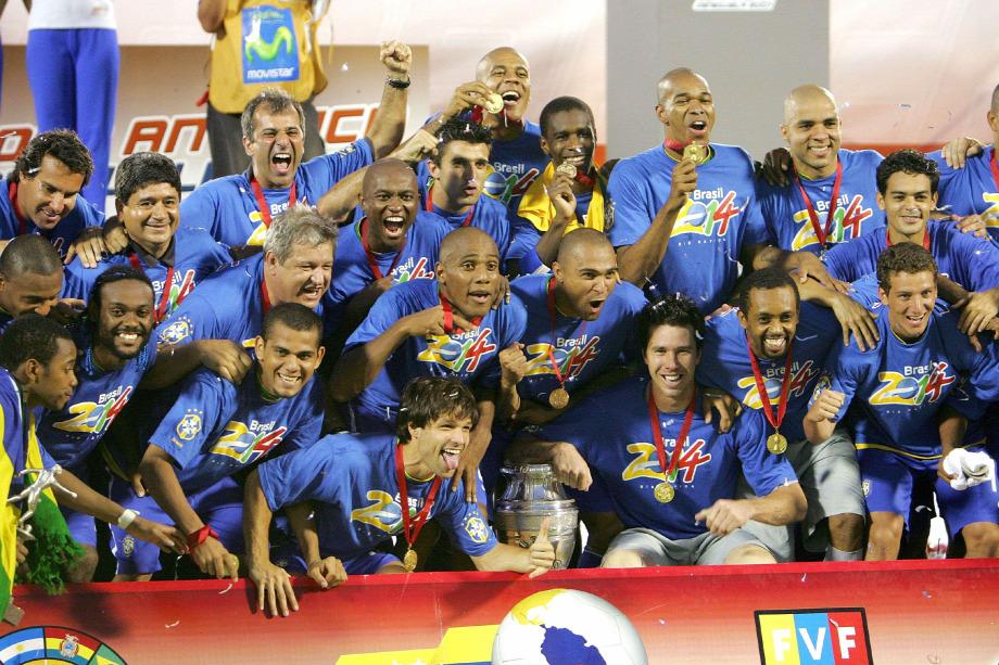 3a46fd7eed85 A brazil labdarúgó-válogatottnak a 2007-es Copa América-győzelem a  legutóbbi nagy sikereForrás: MEXSPORT/Alejandro Acosta