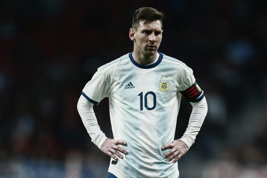 565de4cefd21 Lionel Messinek eddig nem sok öröm jutott argentin mezbenForrás:  AFP/Benjamin Cremel