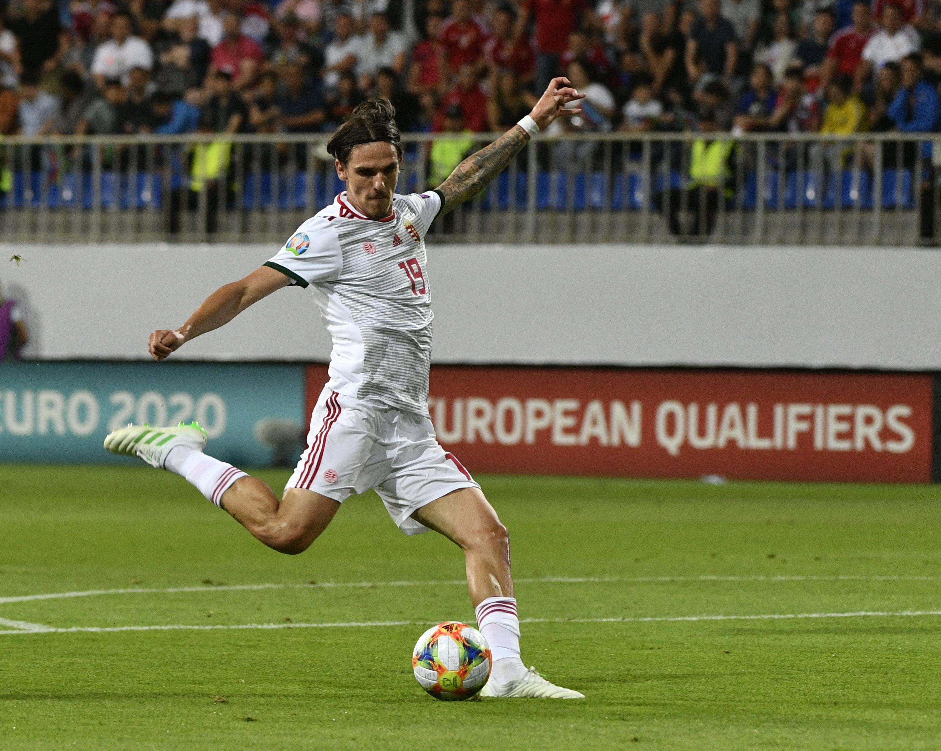 A debütáló Holman Dávid fantasztikus gólt szerzett - videó