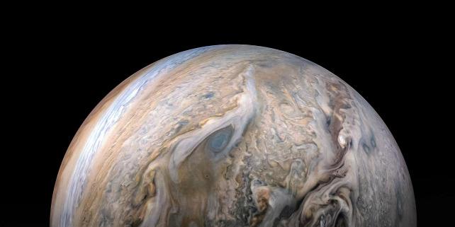 Forrás: NASA/JPL-Caltech/SwRI/MSSS/Kevin M. Gill