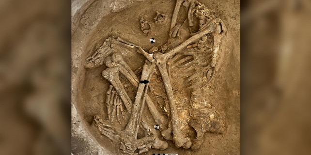 Forrás: Image courtesy of the Çatalhöyük Research Project/Jason Quinlan