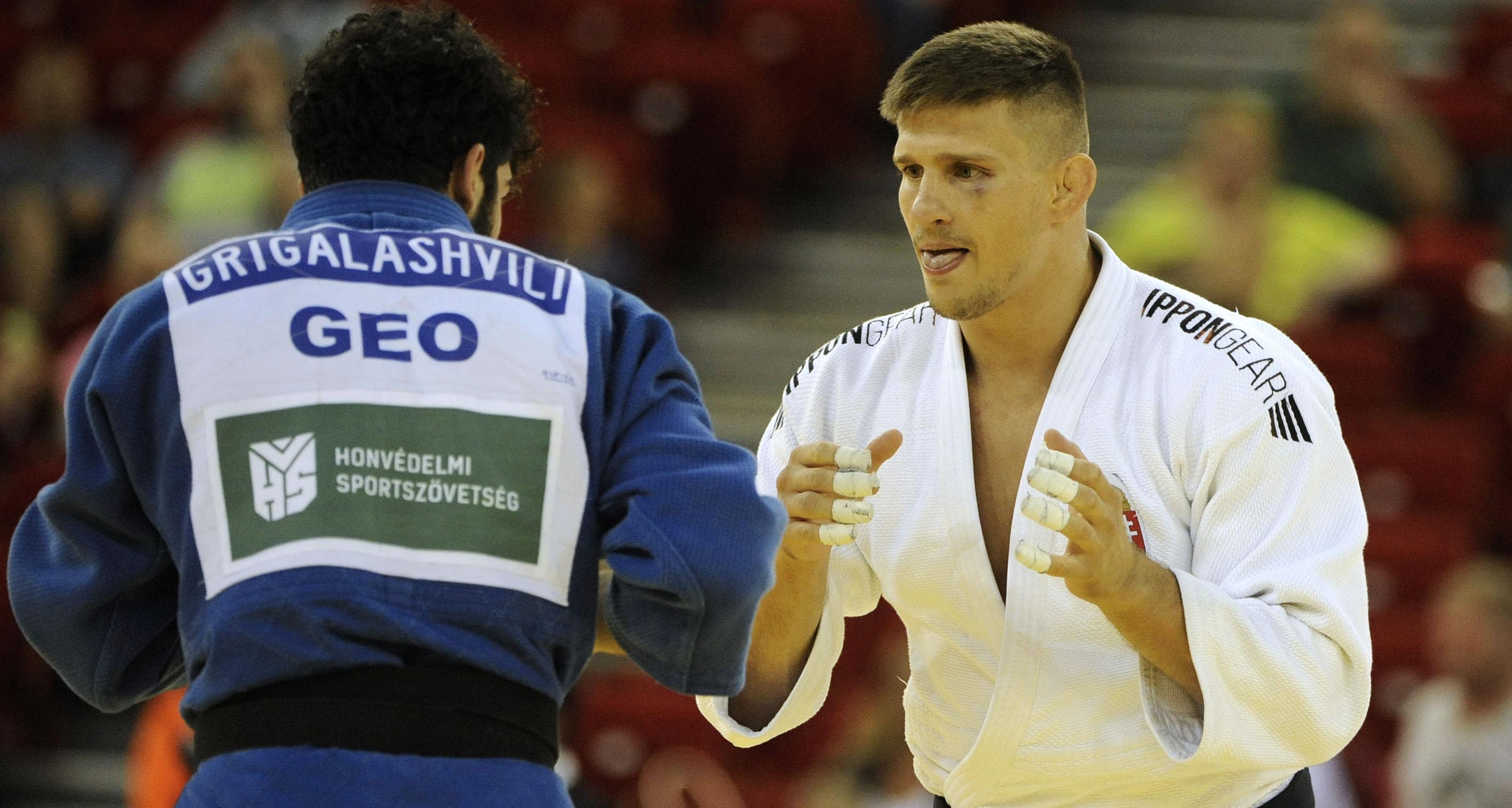 Ungvári Attila nyerte a cselgáncsozók Grand Slam-versenyét