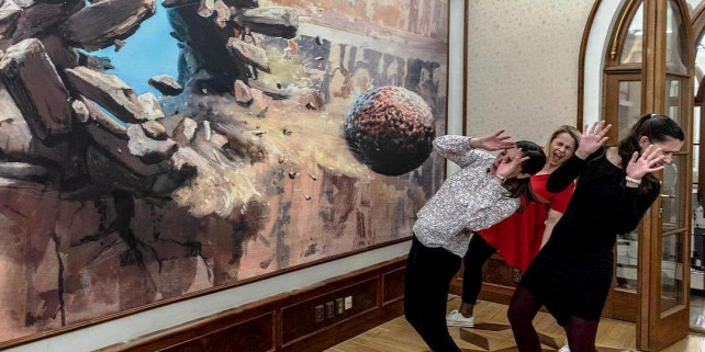 Forrás: Facebook/Illusion Art Museum Prague