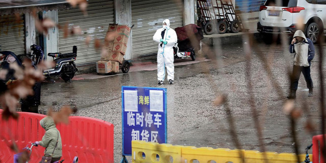 Forrás: ciencemag.org/news/2020/01/wuhan-seafood-market-may-not-be-source-novel-virus-spreading-globally