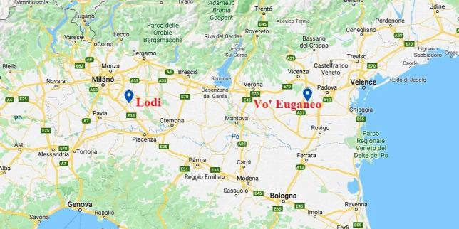Koronavirus Karantent Rendeltek El Ket Olasz Tartomanyban