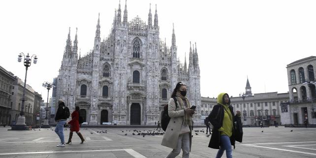 Forrás: MTI/AP/Luca Bruno