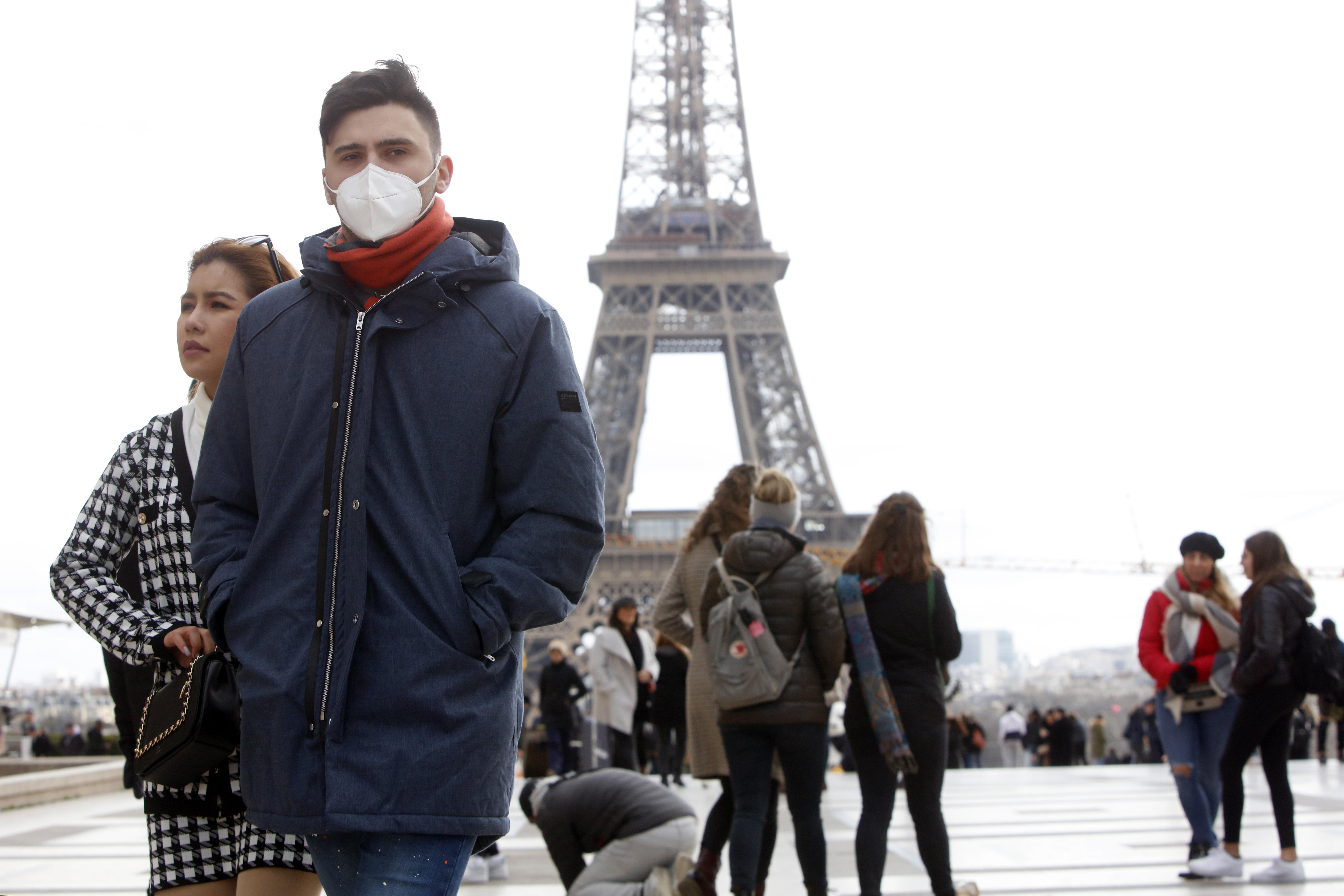 Franciaország Koronavírus