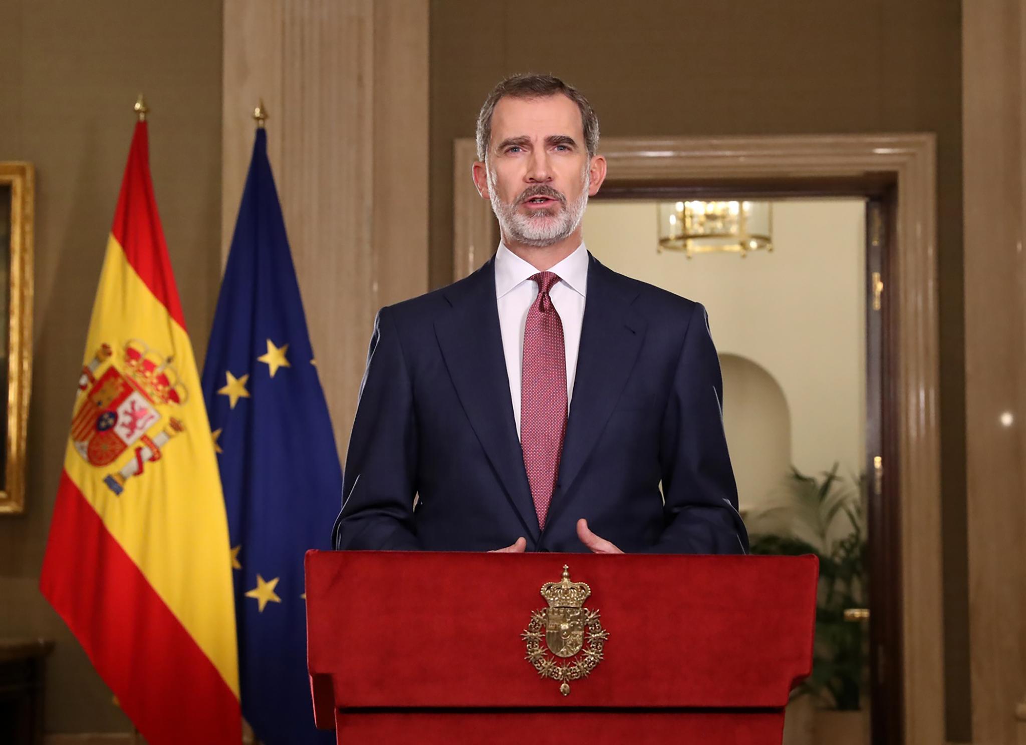 VI. Fülöp spanyol király: A válságot le fogjuk győzni