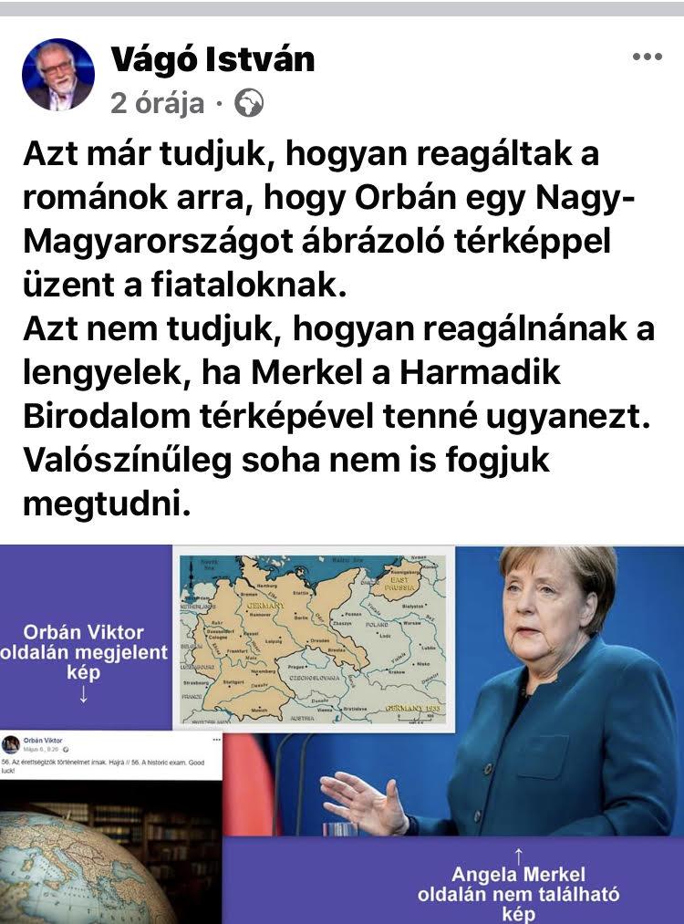 Vágó István a náci birodalomhoz hasonlította a Trianon előtti Magyarországot