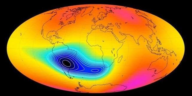 Forrás: Division of Geomagnetism, DTU Space