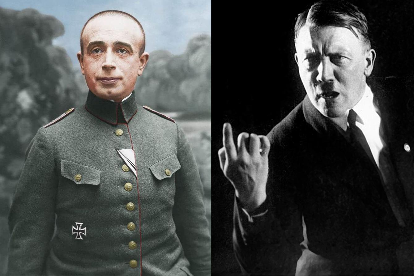 A Führer zsidó parancsnoka, és egy Hitler, aki partra szállt Normandiában