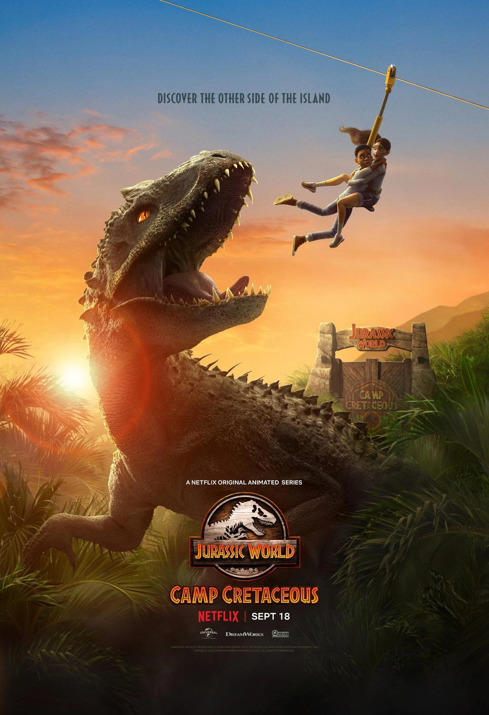 Előzetes és plakát az új Jurassic World-sorozathoz