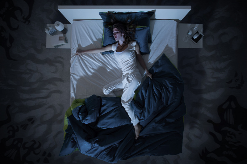 In summer, the heat can also degrade the quality of sleep SOURCE: SHUTTERSTOCK