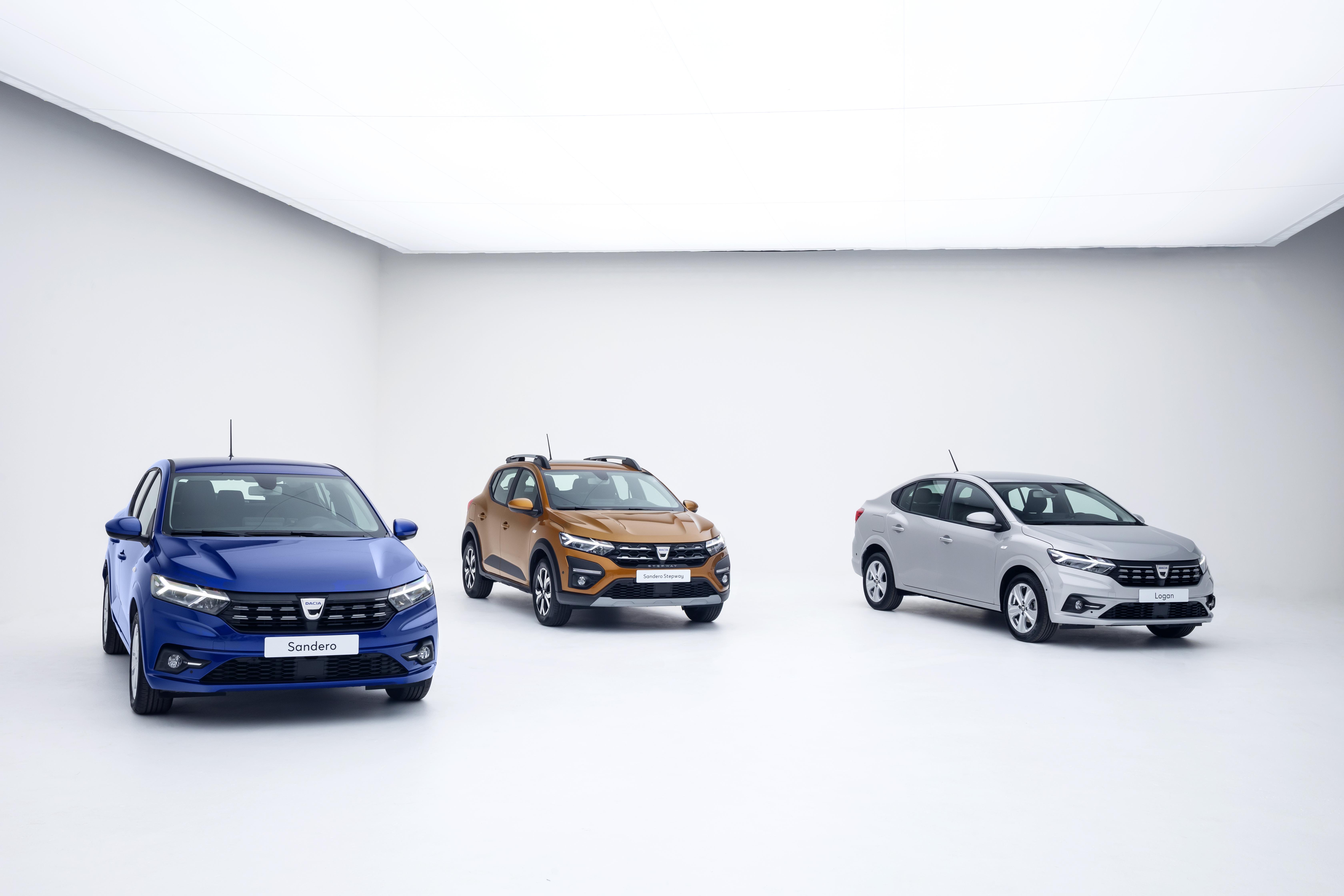 Egész csinosak lettek az új Daciák, és nem lesz náluk olcsóbb új autó