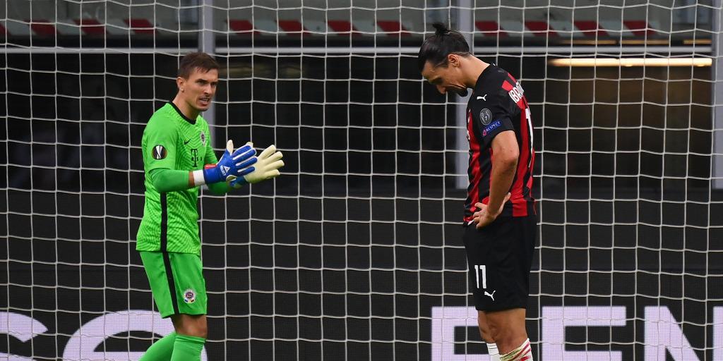 Ibrahimovic büntetőt hibázott, de így is könnyedén nyert az AC Milan az Európa-ligában – videó