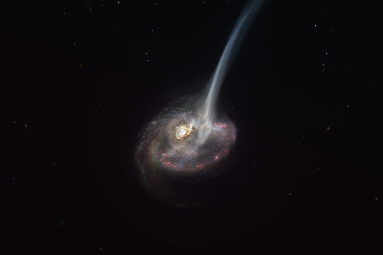 Meglepő folyamat miatt haldoklik egy távoli galaxis