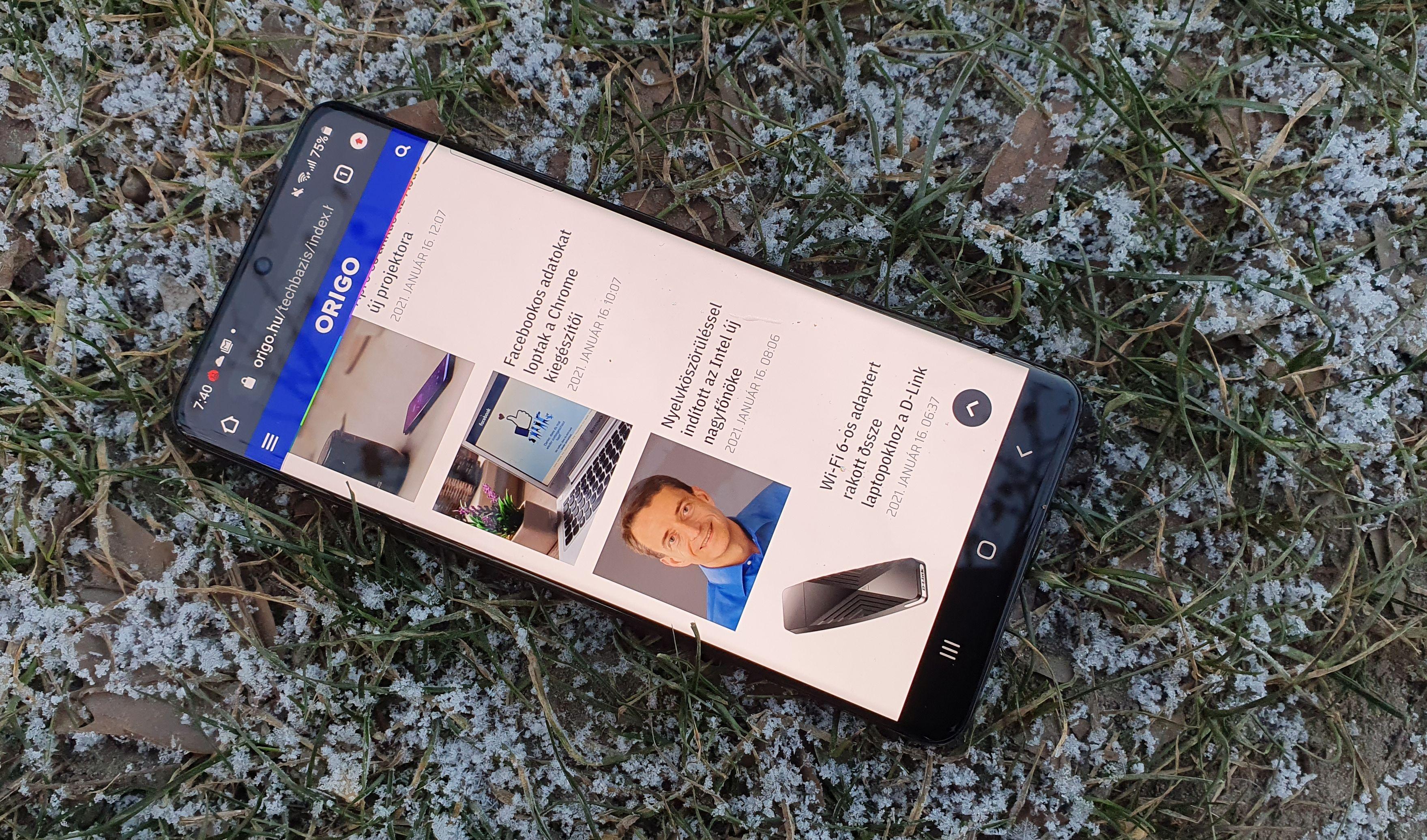 Kezdődik az Android 12 tesztelése a Samsungnál