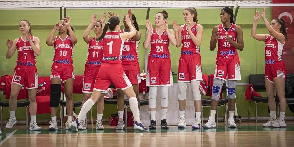 Továbbjutott a DVTK a női kosárlabda Európa-kupában