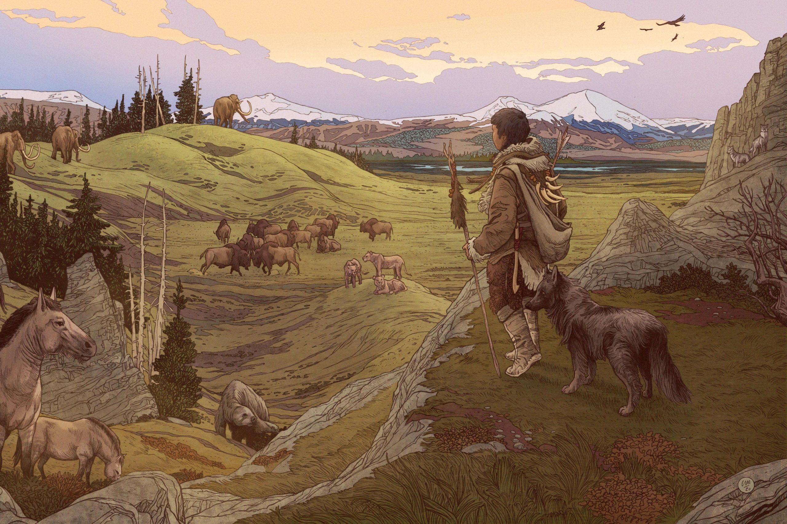 Az ember és az ősi vadászkutya egymástól szerezhetett élelmet