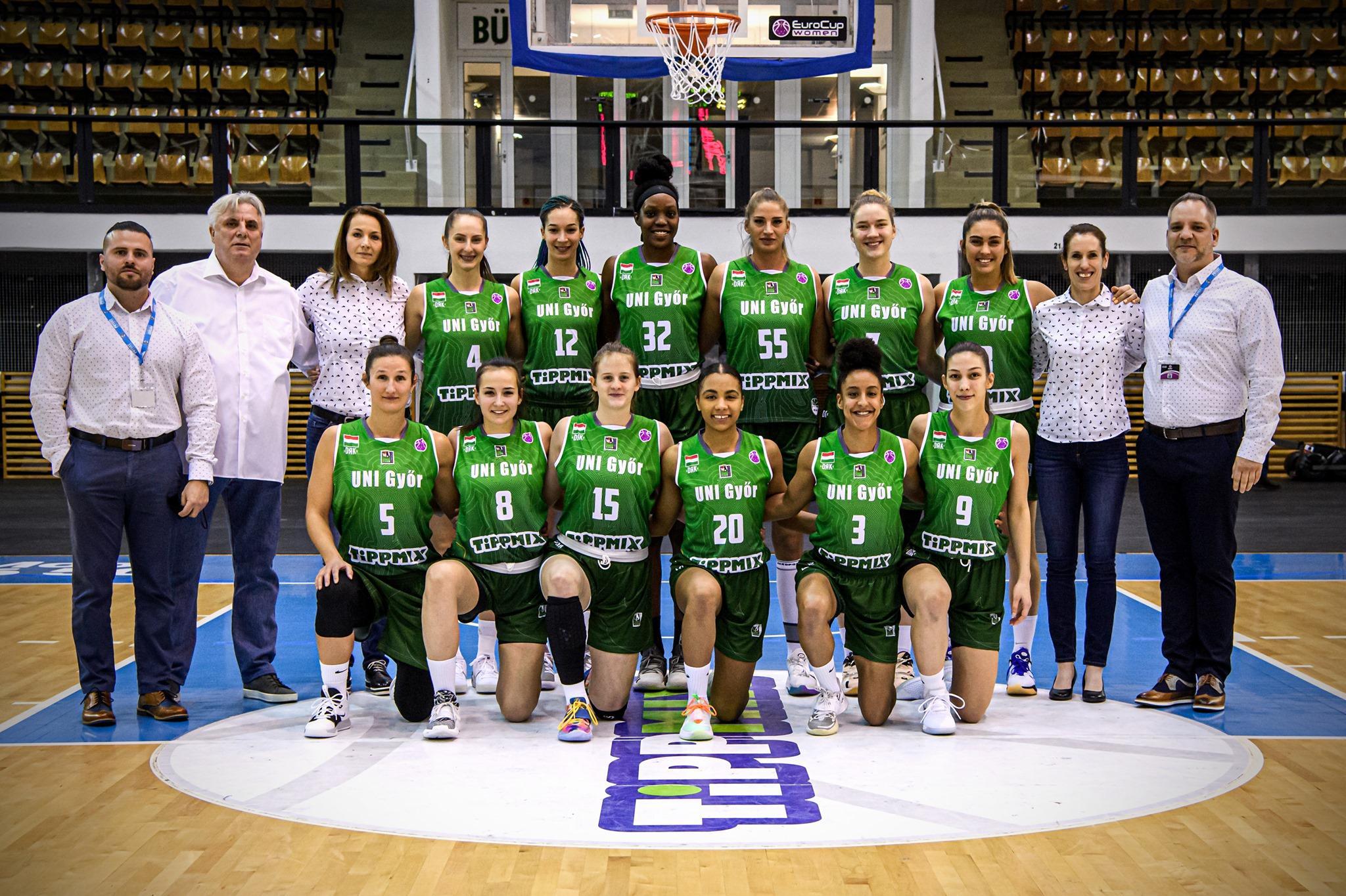 Törökországi vereséggel kezdett a Győr a női kosárlabda Európa Kupában