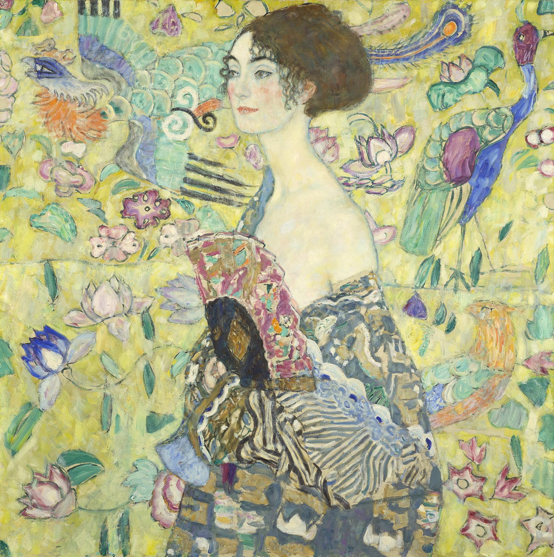 Klimt utolsó festménye 100 év után újra Bécsben lesz látható