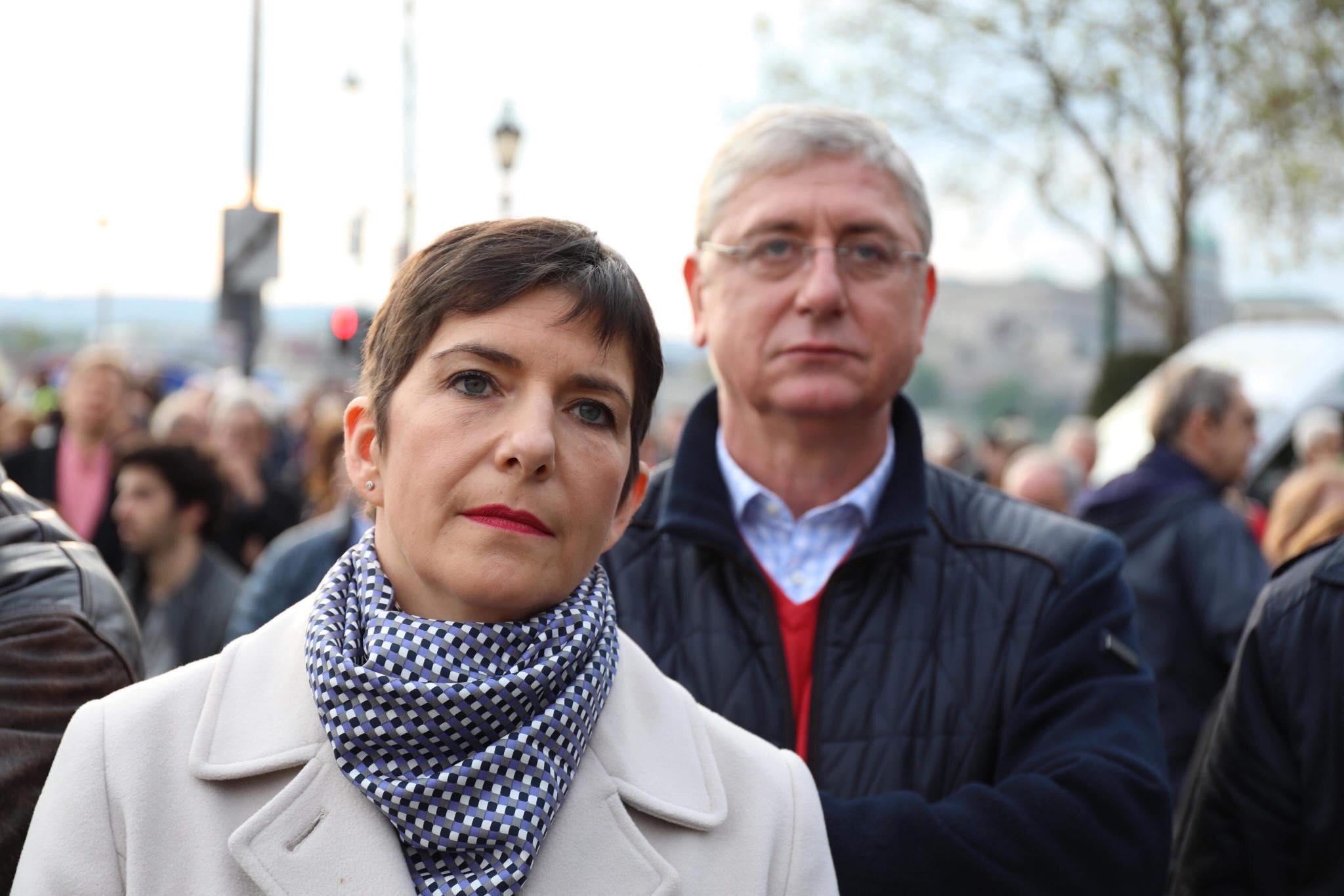 Kocsis Máté üzeni Gyurcsánynénak, hogy Brüsszel a hibás