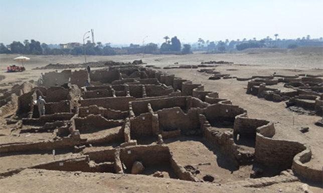 Megtalálták az elveszett aranyvárost Egyiptomban