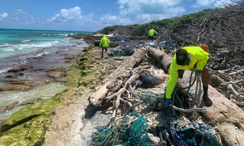 Az ausztrál tengerpartokon felhalmozódó szemét túlnyomó része műanyag