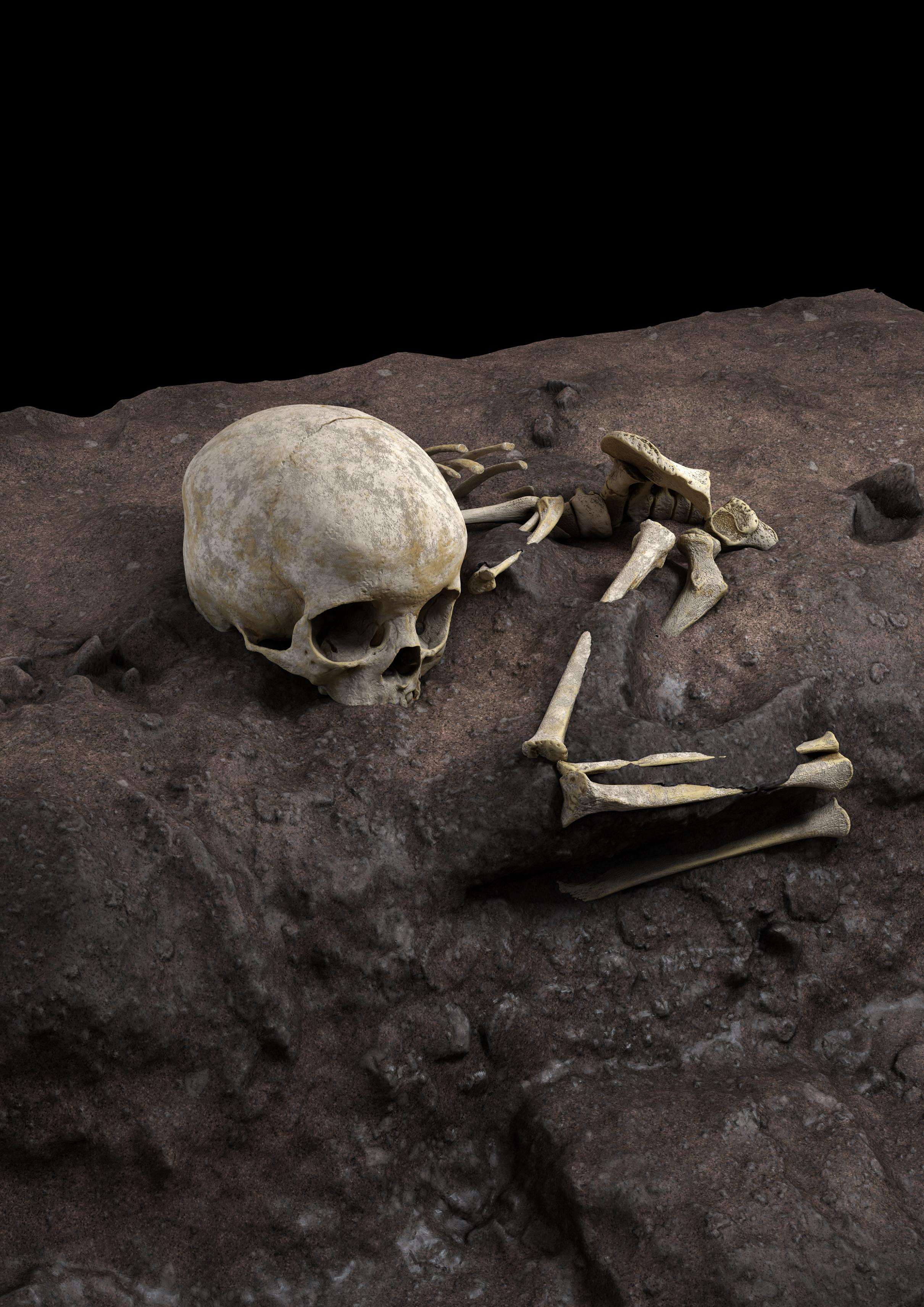 Megtalálták a Homo sapiens legrégebbi sírját
