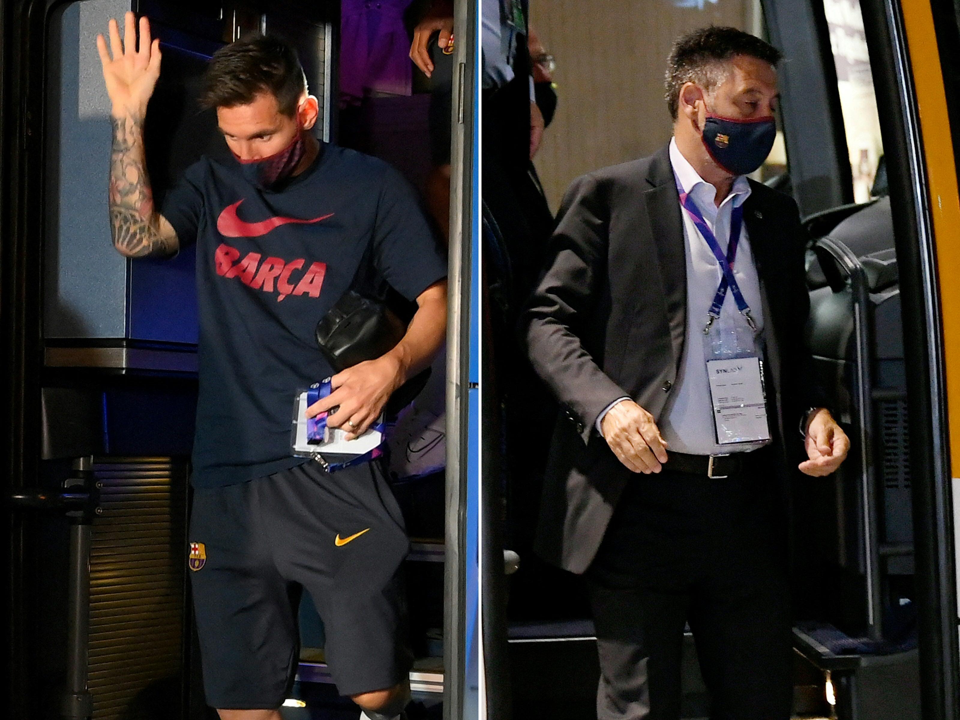 Messi üzent: Megint átb.sztál, te áruló!