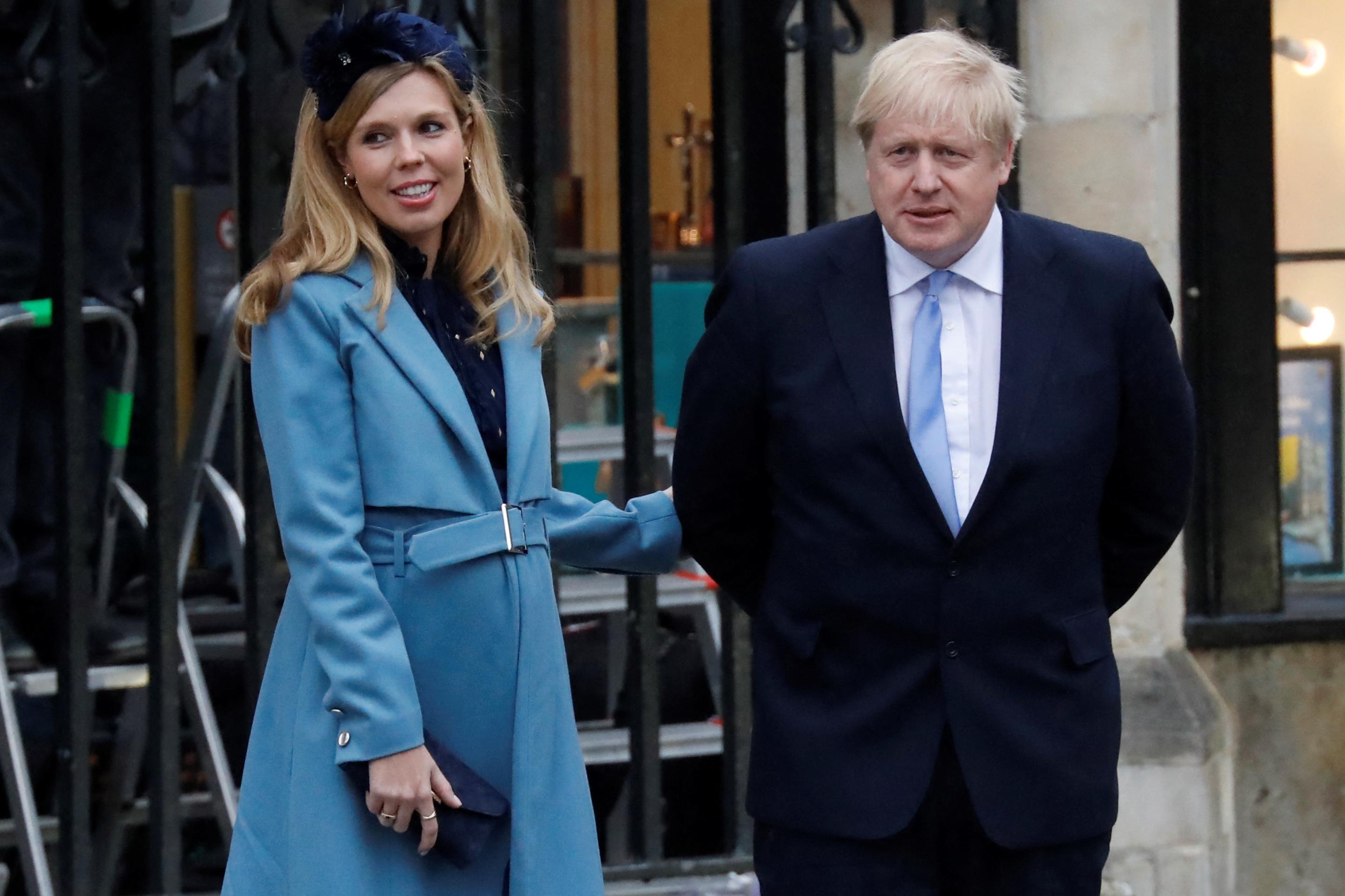 Második közös gyereküket várja Boris Johnson és felesége
