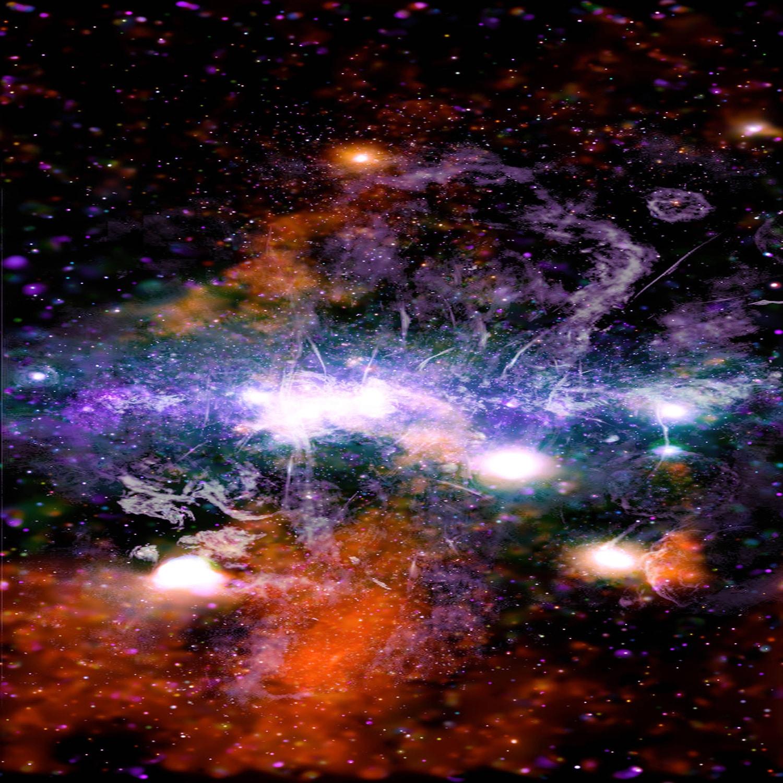 Páratlan felvételt tett közzé a NASA a Tejútrendszer központjáról