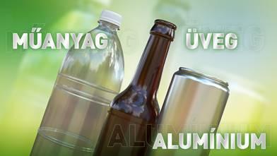 Az üveg palack, a műanyag vagy az alumínium a legjobb megoldás?