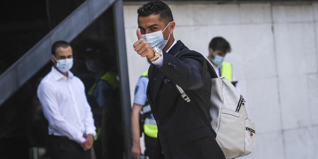 Cristiano Ronaldóék megérkeztek Budapestre