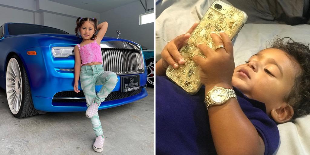 Íme, a közösségi oldalak dúsgazdag gyerekei, akik rengeteg pénzt keresnek fotóikkal – Galéria