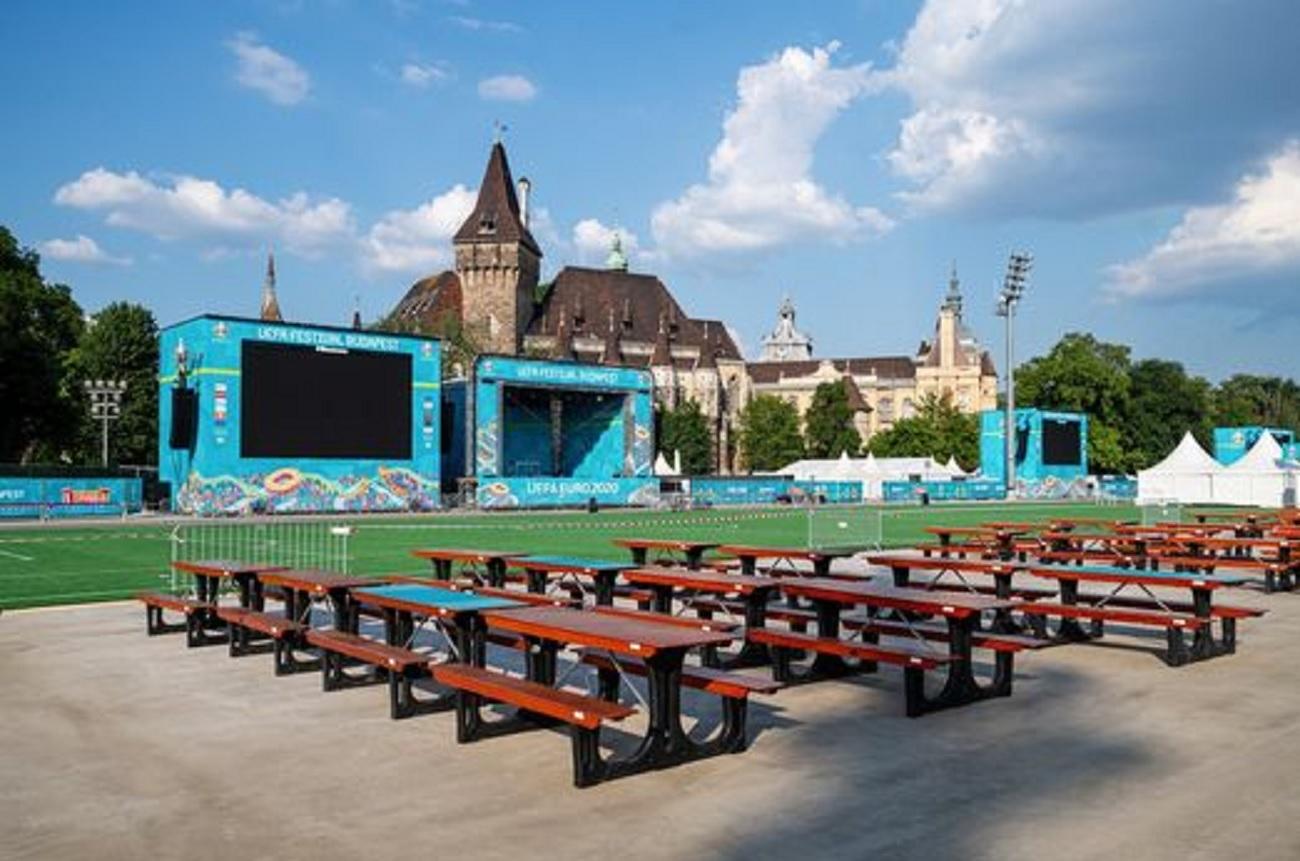 Euro 2020: megnyitotta kapuit a városligeti szurkolói zóna